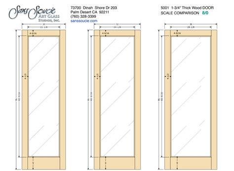 """Door Frame Specs ? French 5001 ? 1 3/4"""" Thick Door 8/0"""