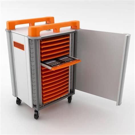 Horizontal Storage Cabinet Mobile Tablet Cabinets 32 Ports Horizontal Storage Aj Products Ireland
