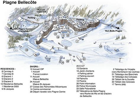 Residence Pierre Et Vacances Plagne Lauze  30.5%, La Plagne, location vacances ski La Plagne