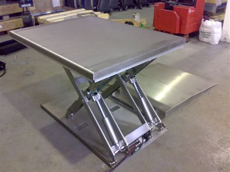 Home Floor Plans Single Level stainless steel scissor lift tables edmolift
