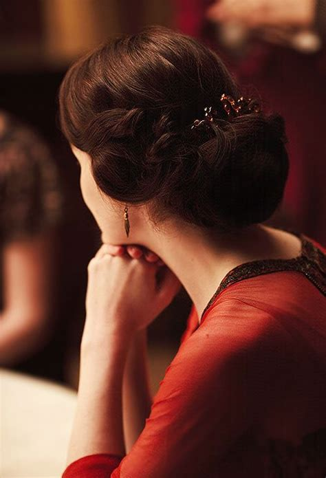 lady mary crawleys new hair style 1000 images about downton abbey hair on pinterest updo