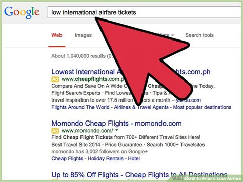 7 ways to find a low airfare wikihow