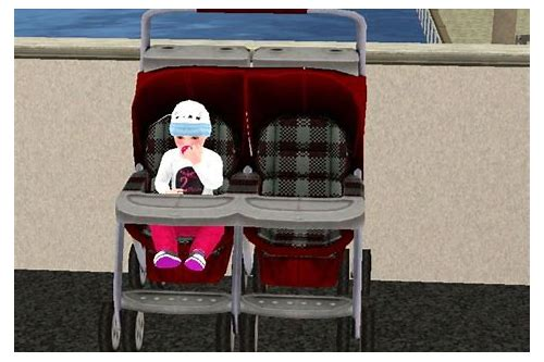 sims 3 baby stroller download
