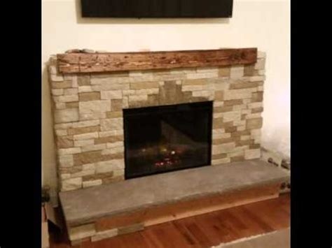 diy air fireplace with electric insert
