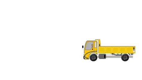 Van Sofa Bed Cartoon Truck Moving Furniture Stock Footage 397912