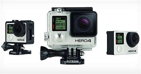 Gopro 3 Spesifikasi Dan Spesifikasi Dan Harga Kamera Gopro 4 Black And Silver