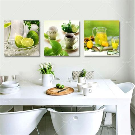 Large Kitchen Canvas by 2018 3 Panel Canvas Fruits Kitchen Canvas Painting