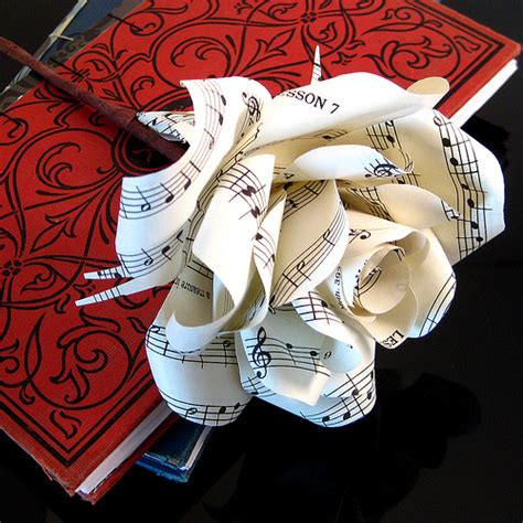 rose themed paper paper roses sheet music flickr photo sharing