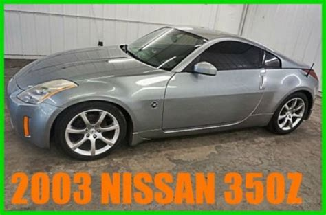 Sell Used 2003 Nissan 350z 72 Xxx Orig Sporty 3 5l V6 24v