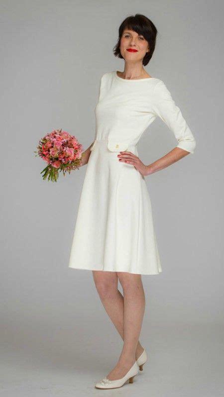 Simple Knee Length  Ee  Wedding Ee   Dress For Se Nd  Ee  Wedding Ee