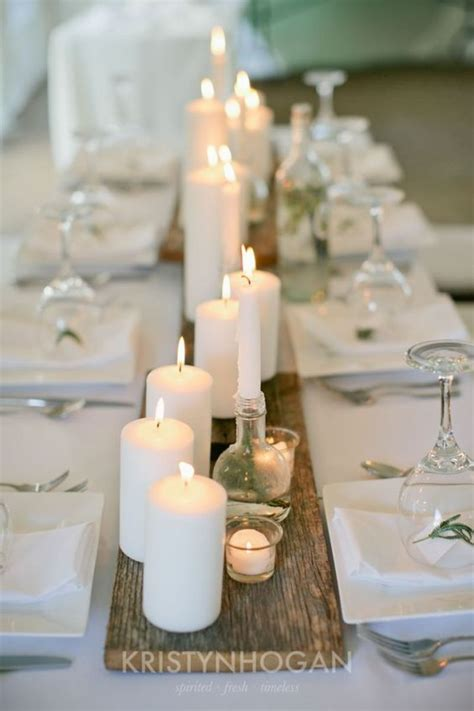 wedding table centerpieces candles ideas 2 20 stuning wedding candlelight decoration ideas you will