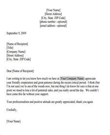 Years Of Service Letter Sle Appreciation Letter To Customers Exles 28 Images Best