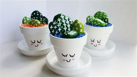 cute cactus pots mini hand painted cactus pots cute cacti