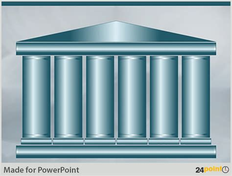 Pillars diagram 3d editable powerpoint template kotaksurat powerpoint template with pillars image collections toneelgroepblik Image collections