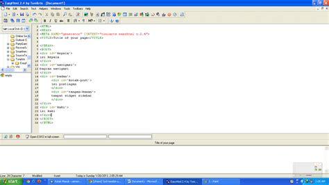 membuat html sendiri tips membuat template blogger sendiri dengan easyhtml
