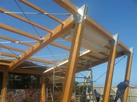 struttura gazebo in legno struttura in legno lamellare per chiosco porticello le