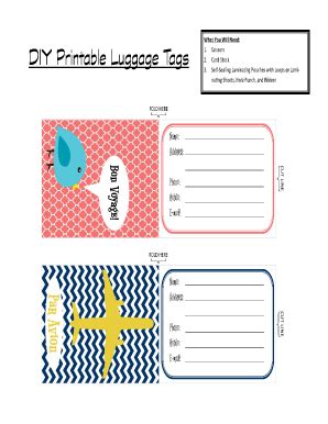 free printable airline luggage tags printable luggage tags www pixshark com images