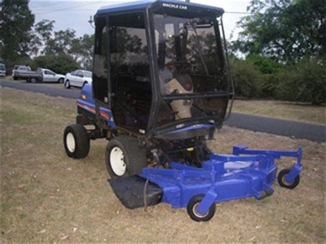 air conditioned lawn mower price 2008 iseki sf370 4wd outfront mower with air conditioned cab