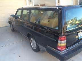 Volvo Station Wagon For Sale 1992 Volvo 240 Station Wagon 245 Black For Sale