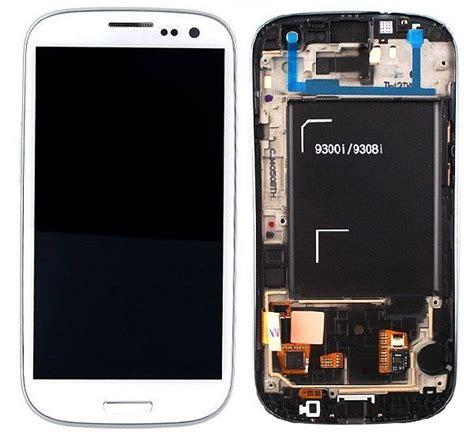 Advan S3 Lite Original samsung i9300i galaxy s3 neo lcd display module white gh97 15472b parts4gsm
