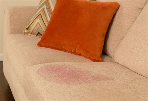 wine stain couch furniture repair before and after pictures guardsman