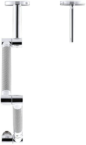 kohler k 6228 c11 cp karbon wall mount kitchen faucet with