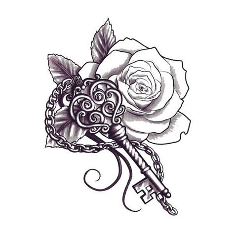 rose and key tattoo 25 best ideas about key drawings on key lock