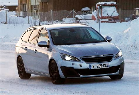 peugeot estate spyshots peugeot 308 sw gti the french estate