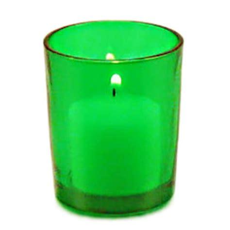 green votive candle holder decorations - Green Votive Holders
