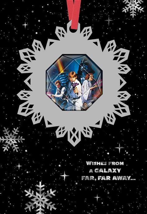 Star Wars? Season?s Greetings Christmas Card With Ornament