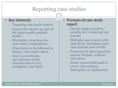 research design key elements case study research by robert yin 2003