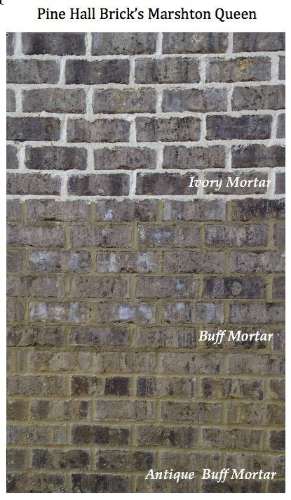 mortar color one brick color three different mortar colors dramatic