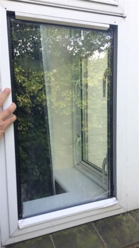 aluminium window beading fitting integral blinds to existing glass and windows