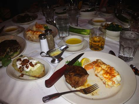 morton s steak house food dining morton s cajun ribeye and ultimat dirty martini with blue cheese