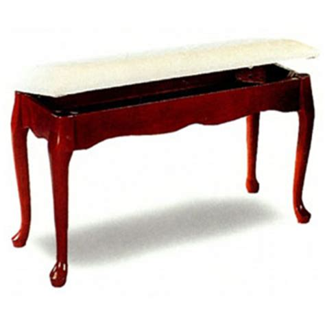 queen anne bench queen anne style piano bench with hideaway seat 3343 co more then a furniture store