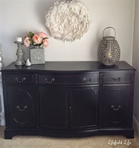 Painting A Dresser Black by Lilyfield How To Paint Furniture Black Like A