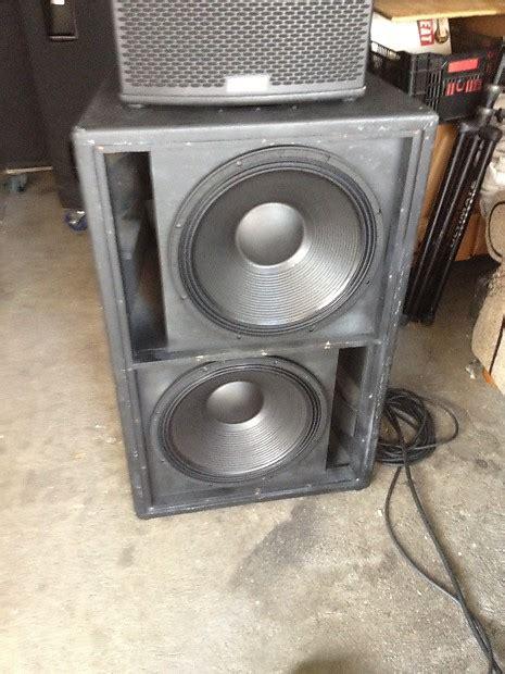 Speaker Eaw eaw sb 850 sub with new b c tbx 100 speaker subwoofer eaw
