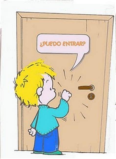 imagenes animadas tocando la puerta el ba 250 l de las manualidades infantiles habitos