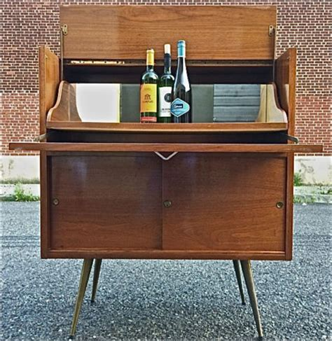 Vintage Kitchen Cabinets mid century modern bar cabinet ideas homesfeed