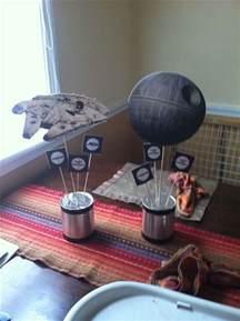star wars centerpieces jacobs big party ideas pinterest