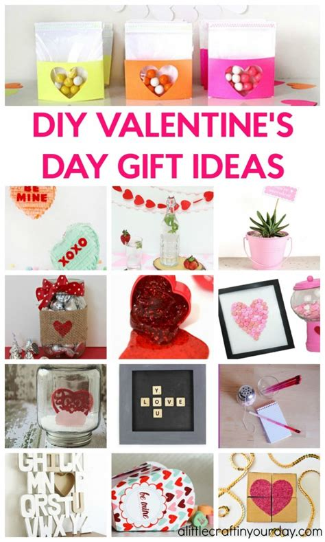 Handmade Valentines Day Gift Ideas - diy valentines day gift ideas a craft in your day