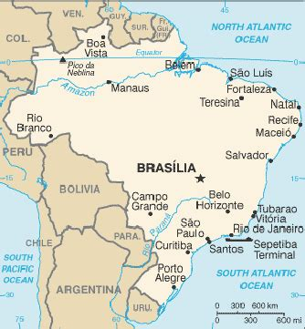 neighboring countries of brazil brazil map and surrounding countries