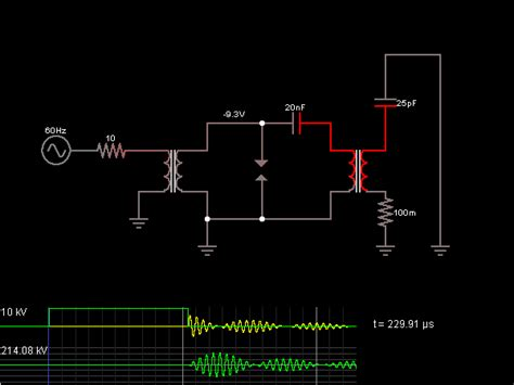 Tesla Coil Simple Explanation Tesla Coil Circuit Page 2 Power Supply Circuits Next Gr