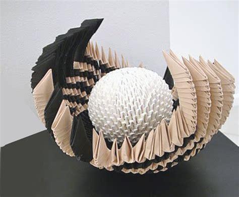 Origami Paper Sculpture - contemporary goldengami s weblog