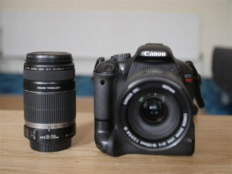 Canon 550d Lensa 18 135mm canon 550d rebel t2i dslr 24k shutter count with 18 135mm and 55 250mm lenses for sale in