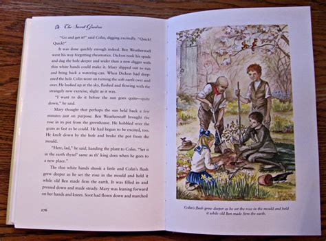 the secret garden picture book discussion points from the secret garden