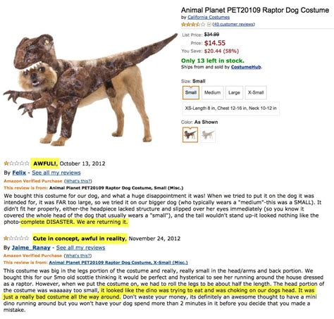 dogs rating angry reviews of adorable costumes collegehumor post
