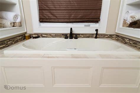 Bathtub Backsplash by Backsplash Tiles Around Tub In Bathroom Master Bath