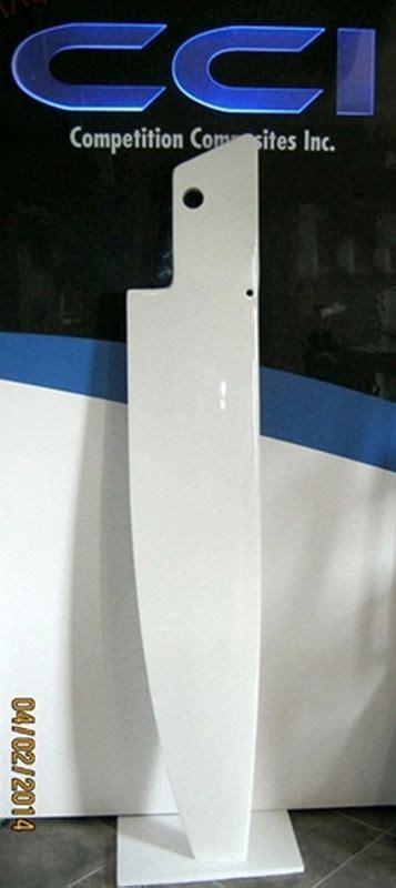 trimaran rudder design new rudder for dragonfly trimaran competition composites