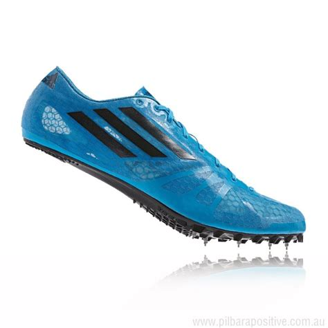 sport track shoes discounted price blue adidas adizero prime sp running
